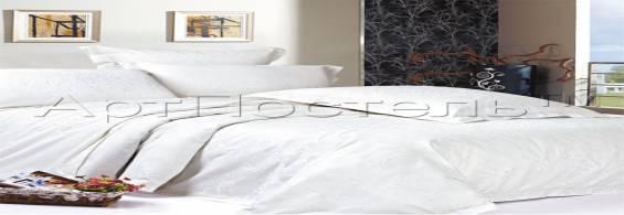 7 комплектов белого постельного белья